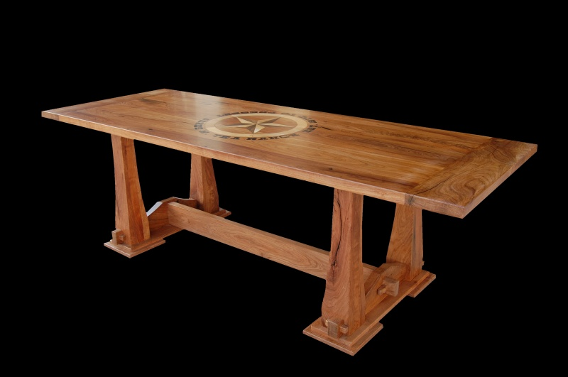 Long Wood Tables Dining Room