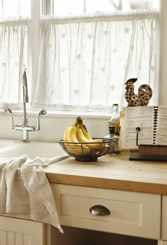 rideaux pour cuisine moderne idees