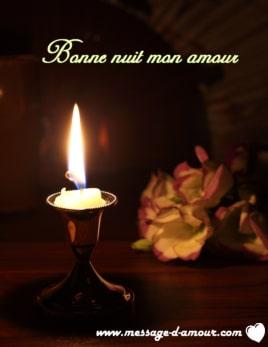 Message d\'amour pour souhaiter bonne nuit