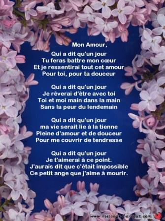 Po mes d amour pour la saint valentin - Poeme d amour a imprimer ...