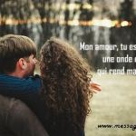 message d'amour original