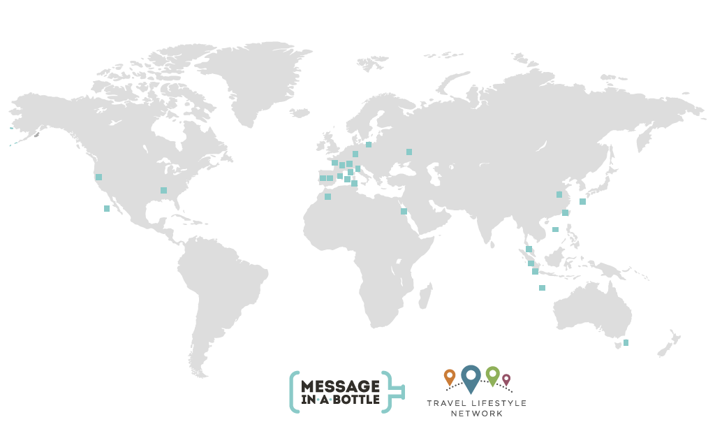 Mapa Travel Lifestyle Network