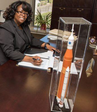 Audrey Robinson, Marshall Space Flight Center