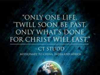 CT Studd Quote