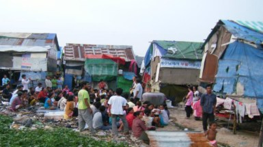 Cambodia - Children ministry at Dump 2