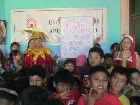 2015 Las Dunas - Pisco, Peru - christmasblessingproject.com
