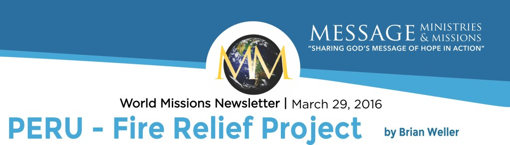2016 March - Message Min Newsletter Banner