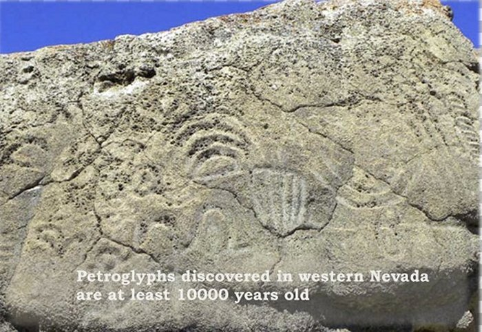 For now, the oldest known petroglyphs in North America, which are cut into several boulders in western Nevada, date to at least 10,500 years ago and perhaps even as far back as 14,800 years ago.