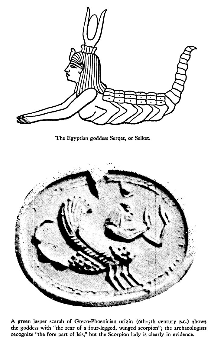 Mysterious Scorpion Goddess In Myths And Legends