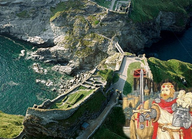 Iconic hero, King Arthur was first linked to Tintagel in the 12th century, when it was named by Geoffrey of Monmouth as the place where Arthur was conceived.