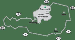 Lage Freistadt