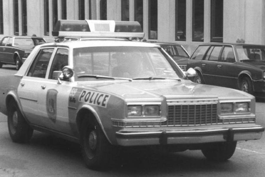 Dodge Diplomat police