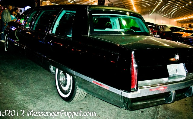 Cadillac Presidential Limo rear