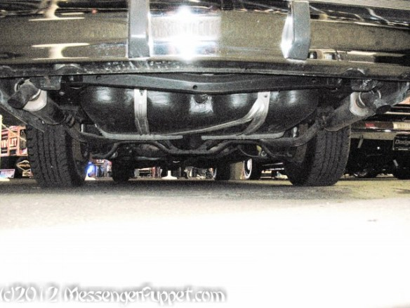 1993 Cadillac Presidential Limo under rear