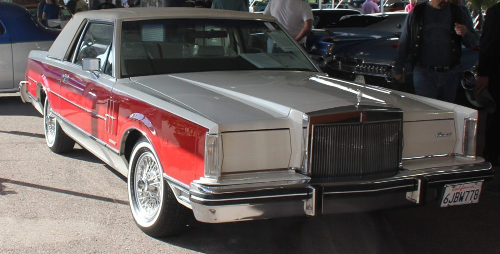 1982 Lincoln Continental Mark VI Bill Blass