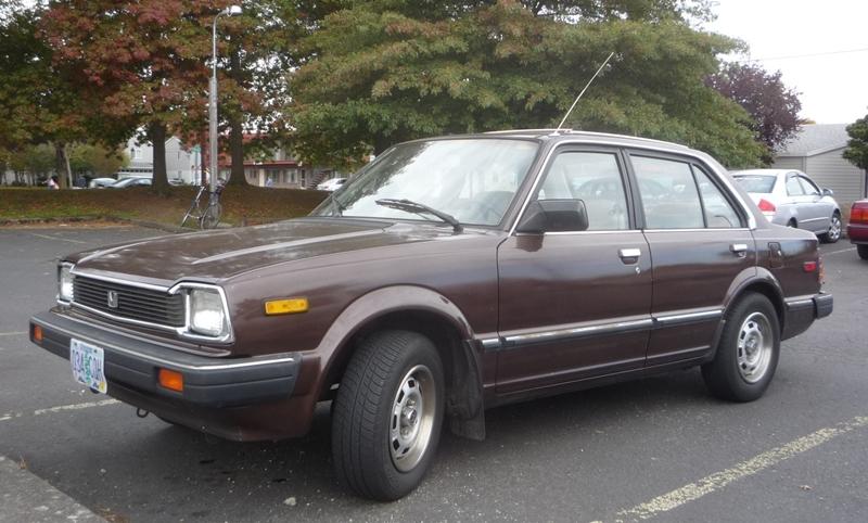 1983 Civic sedan