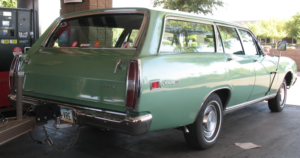 1971 Mercury Montego MX wagon