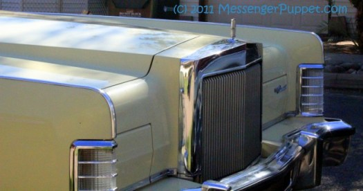 1977 Lincoln Continental Town Car grille