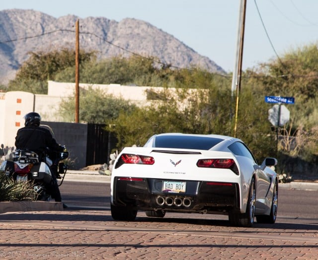 2014 Chevrolet Corvette cop bad boy