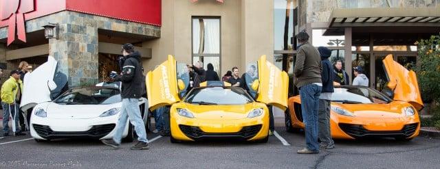 McLaren mp4 x 3