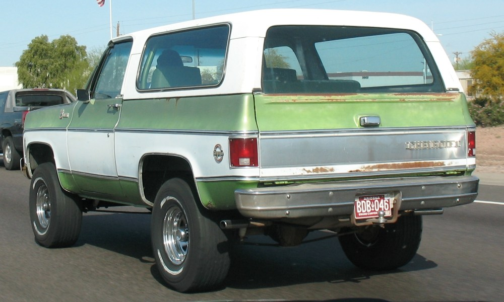 Chevrolet K5 Blazer TC Phi Sigma Kappa