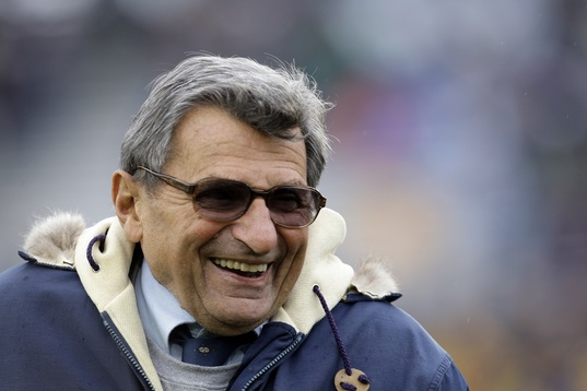 Joe Paterno has risen form the grave - and not iun a good way