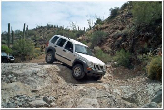 Jeep Liberty Box Canyon run