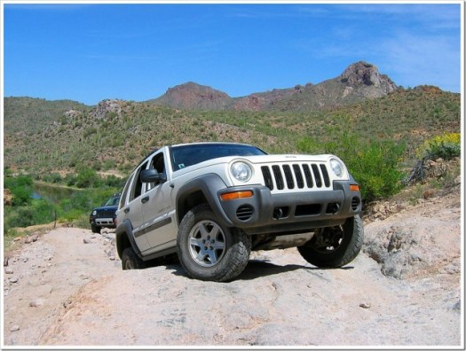 Jeep Liberty Coke Ovens run