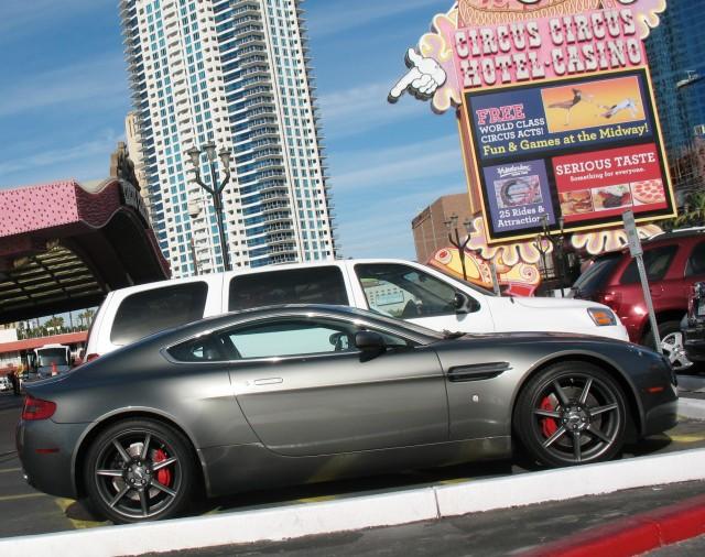 vegas Aston Martin Vantage