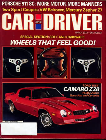 Car and Driver March 1978