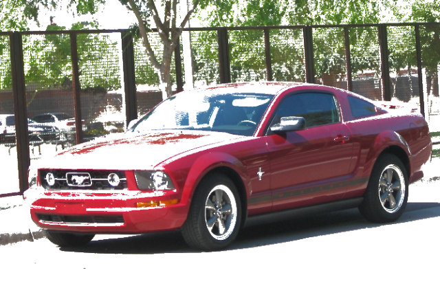 mustang posterize