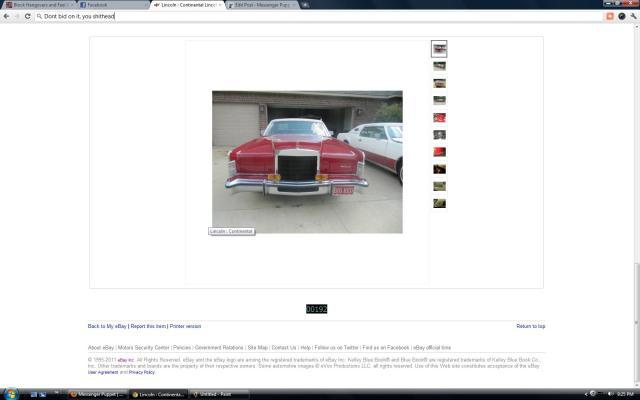 Lincoln Continental Town Car