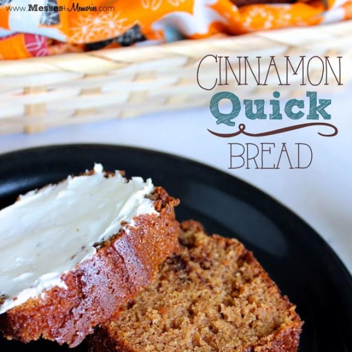 CinnamonQuickBread