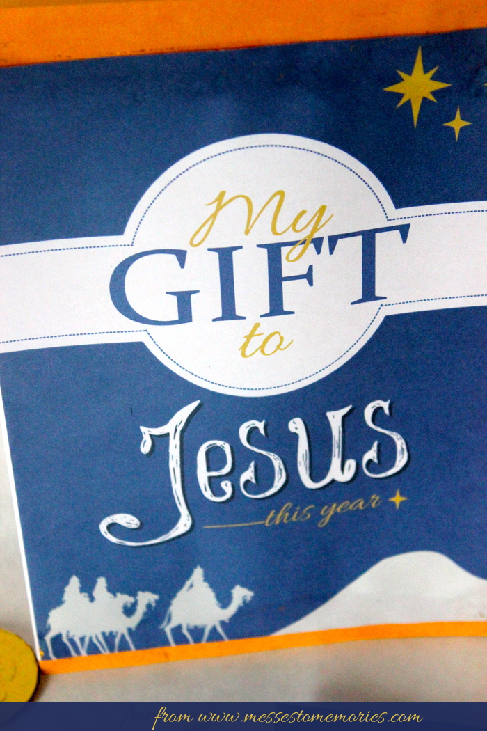 My gift to jesus my gift to jesus envelope from messes to memories negle Gallery