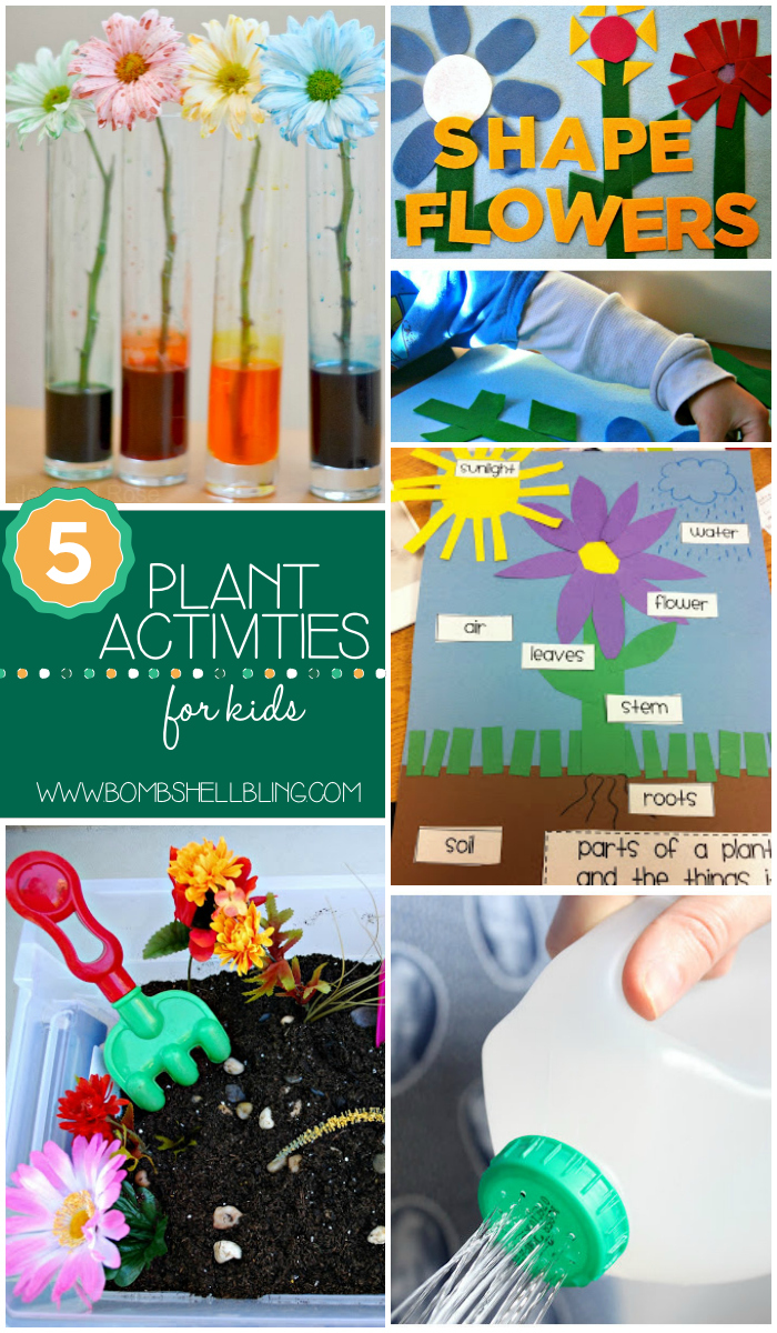 5 Activities for Kids Collage