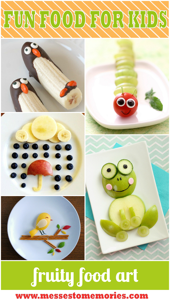 Fruity Food Art from Messes to Memories