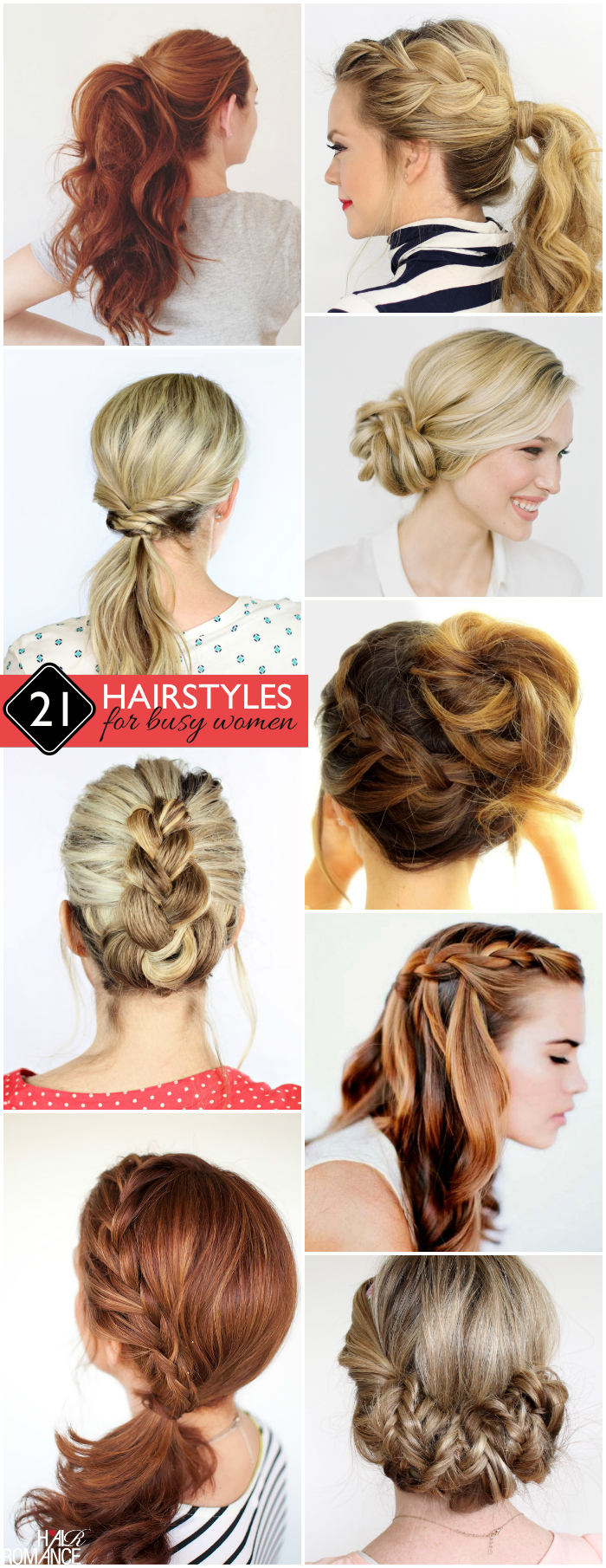 Easy Hairstyles For Busy Women