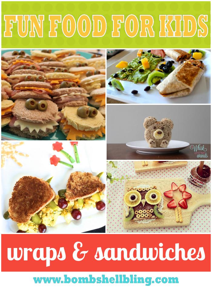 Sandwich and Wrap Food Art-bombshell