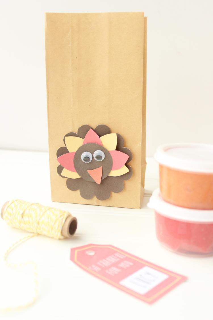 Homemade Turkey Craft for Kids