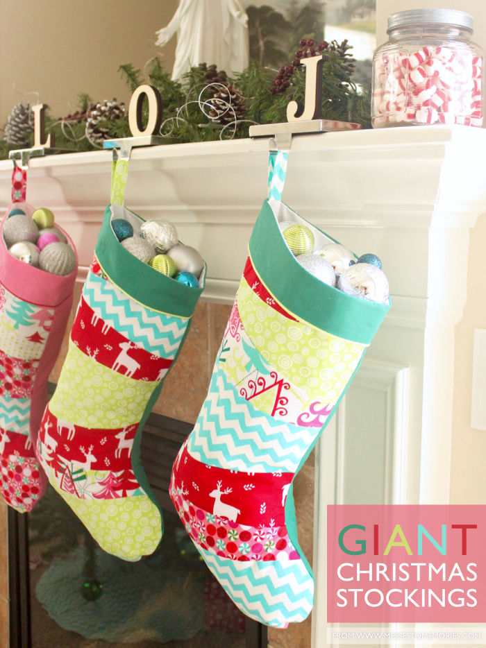 giant christmas stockings - Homemade Christmas Stockings