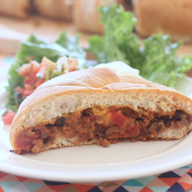 Make Taco night fancy with this delicious Taco Braid!