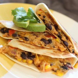 EASY CHEESY COWBOY QUESADILLAS