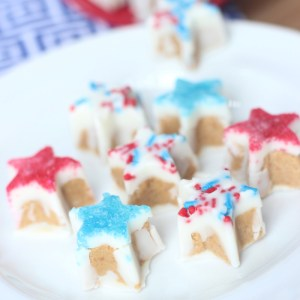 WHITE CHOCOLATE PEANUT BUTTER STARS