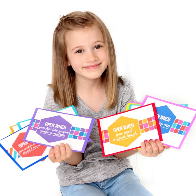 Open When Letters for Kids - A sweet gift idea that will make a lasting impression on your child!
