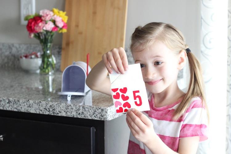 Kid's Valentine's Day Countdown