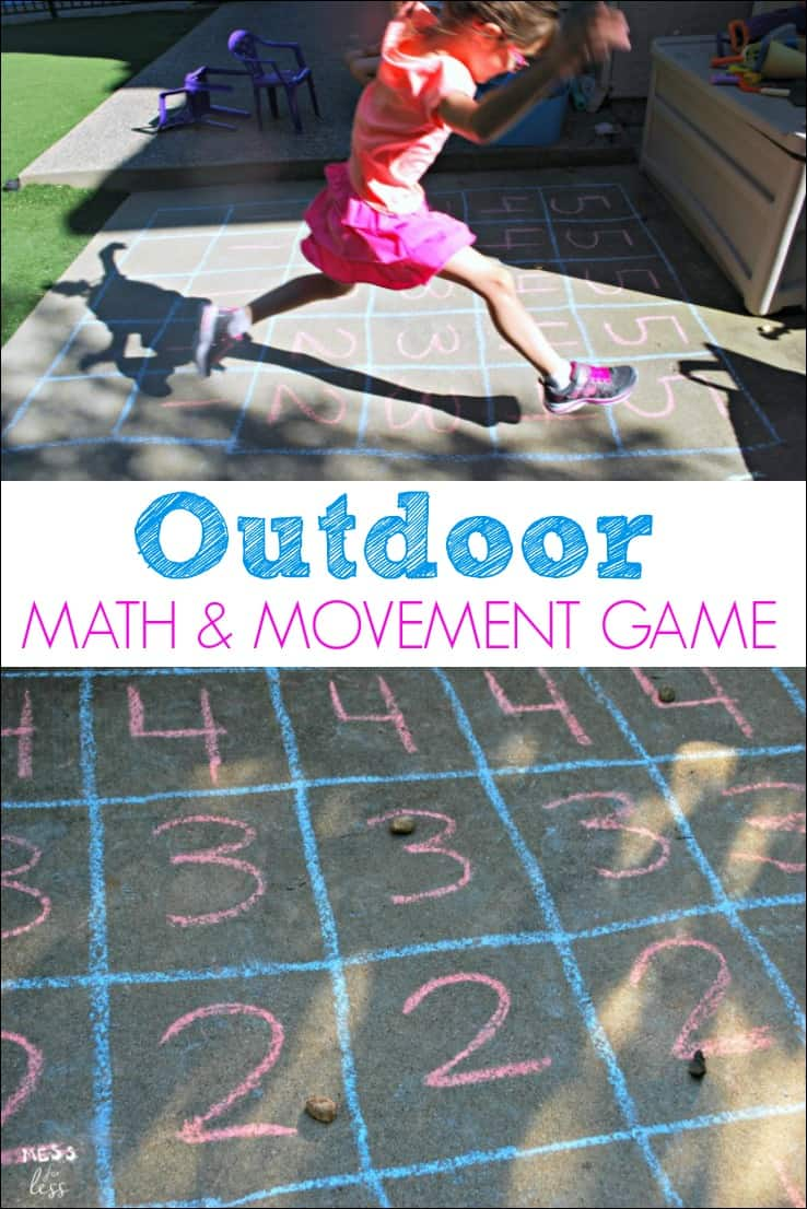 Fun Summer Games Kids Outside