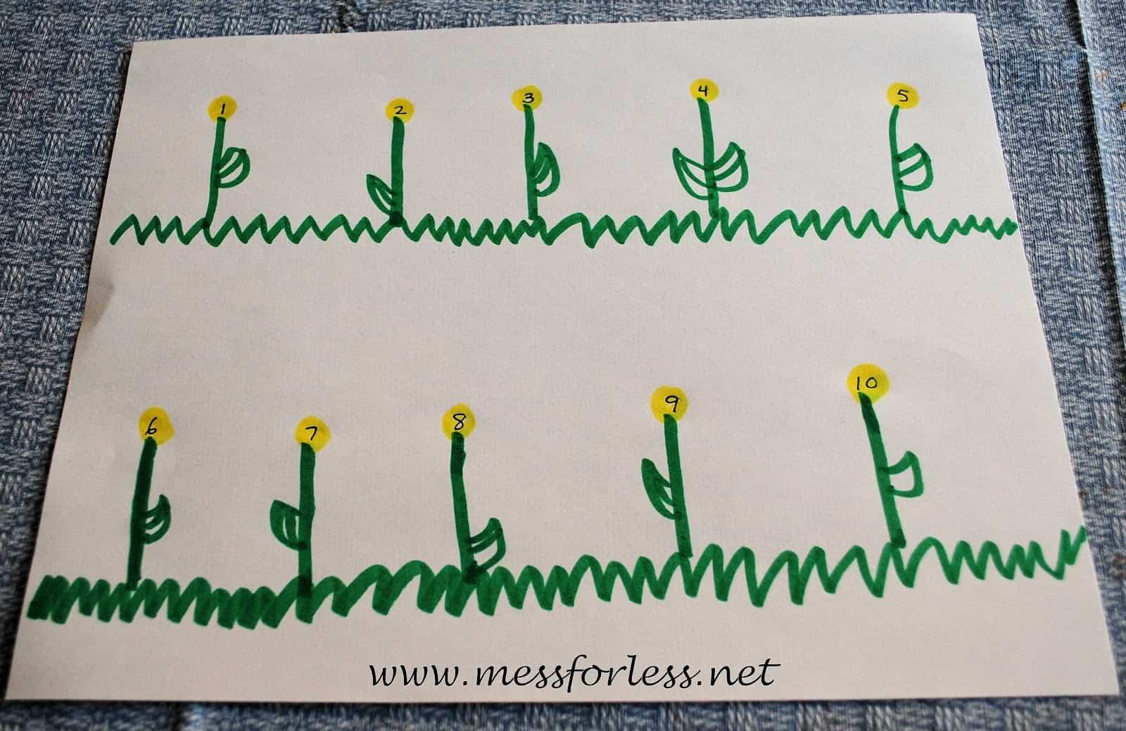 Number Activities For Preschoolers