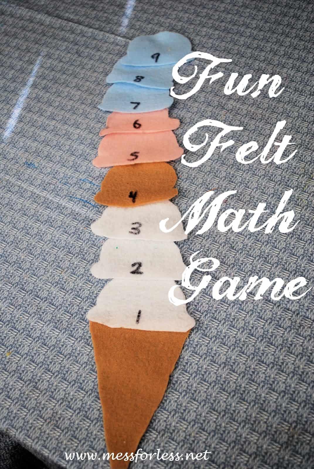 Yummy Ice Cream Math Games