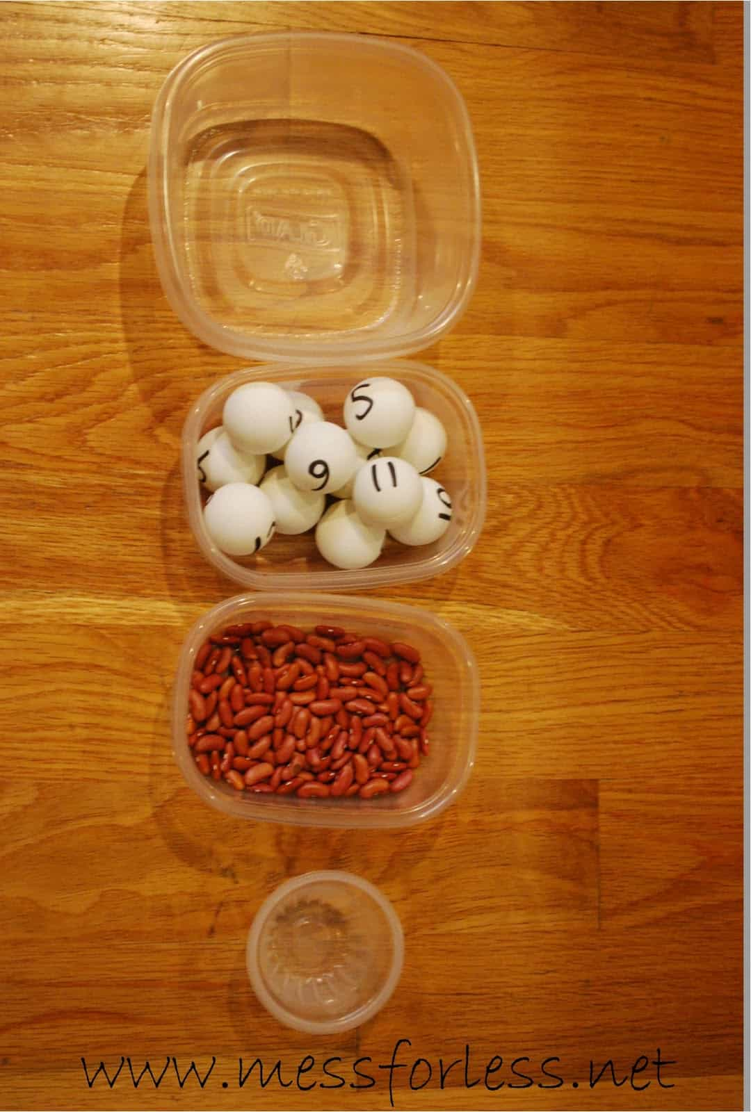 Fun Math Games Numbered Ball Toss