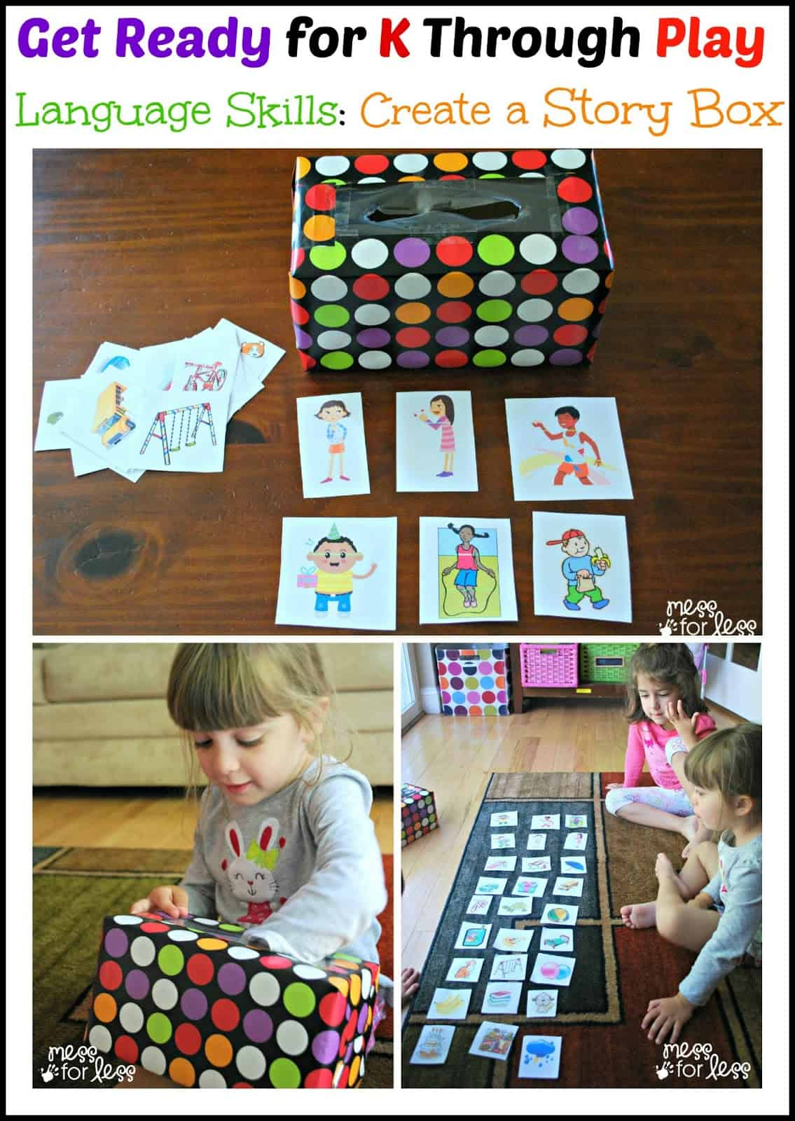Story Box With Free Printables